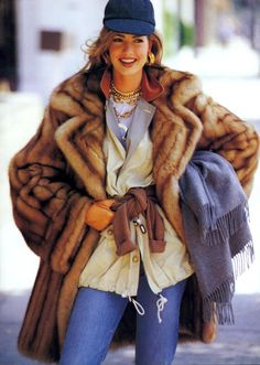 US Vogue August 1991  True Colors  Photo Patrick Demarchlier Editor Carlyne Cerf de Dudzeele Model Karen Mulder Hair Oribe Makeup Moyra Mulholland