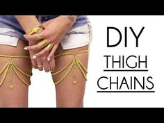 DIY  Thigh Chains (Easy) - YouTube