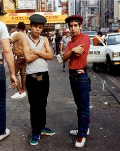 I love this picture so much, it looks like nyc back when it was gritty! Photo: Jamel Shabazz