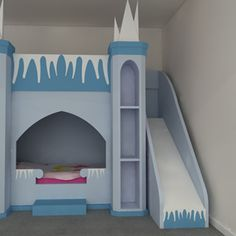 Frozen Inspired Princess Castle Bed Kent & London