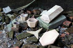 Oscar Medley-Whitfield Wharfware project - ceramics made using Thames clay