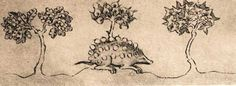 Hedgehog: A beast that carries away grapes on its sharp quills