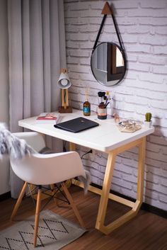 Trendy home office pequeno medidas 49 ideas Home Bedroom, Bedroom Decor, Home Gym Design, Home Office Decor, Home Decor, Trendy Home, Bars For Home, Decoration, My Room