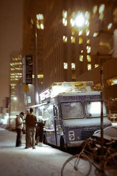 Food Truck -- one thing I really miss about NYC.