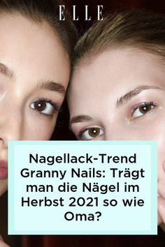 Granny Nails sind der neue Nagellack-Trend im Herbst 2021 – und diese Maniküre wirkt eleganter, als der Name vermuten lässt.
