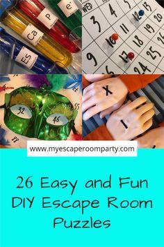 Kids Escape Room, Escape Room Puzzles, Diy For Kids, Cool Kids, Escape Box, Escape Puzzle, Escape Room Challenge, Holiday Program, Coding For Kids