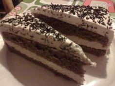Na oslave 80r. mojej starkej som jedla slávnostné gaštanové rezy, kt. sú pôvodne z receptov zo života a ja som si ich upravila na tortu...