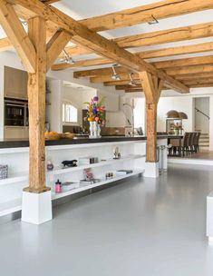Handgemaakte leef keuken in landelijkstijl JACOB keukens Apeldoorn i.s.m. Paul van de Kooi