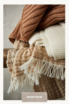 High-quality GOTS-certified organic cotton knitted in Portugal to make our beautiful Santo blanket. With the chunky rib knit, Santo is not only a classic design but it also feels pleasantly heavy - perfect for making yourself comfortable underneath or for creating a relaxed and natural atmosphere in the living room or bedroom. The knitted structure makes the cotton blanket stretchy, so that two people can comfortably fit underneath. Enjoy relaxing moments with our Santo blanket. Oeko Tex 100, Cotton Blankets, Organic Cotton, In This Moment, Living Room, Bedroom, Create, Design, Home