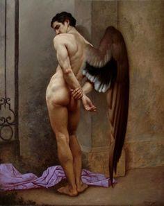 Painting by Roberto Ferri
