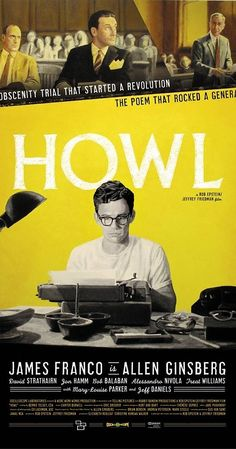 Directed by Rob Epstein, Jeffrey Friedman. With James Franco, Todd Rotondi, Jon Prescott, Aaron Tveit. As Allen Ginsberg talks about his life and art, his most famous poem is illustrated in animation while the obscenity trial of the work is dramatized.