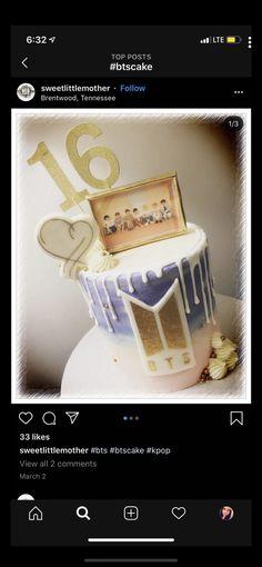 Army's Birthday, Birthday Party Themes, Bts Cake, Sweet 16 Decorations, Bts Birthdays, Cupcakes, Shopkins, Jikook, Fangirl
