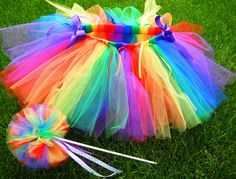 I wish Maris knew who Rainbow bright was... this is what she would be for Halloween!