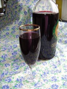 Blackberry Liqueur from Food.com: Ridiculously easy to make, tastes wonderful and makes an impressive gift for any non-teetotaler friends. Superfine sugar works the best. Preparation time does not include 10-12 days for fruit to infuse liqueur.