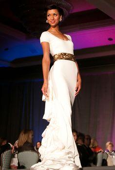 Gown Karen Caldwell #Fashion #FashionDesigner #Napa #StHelena