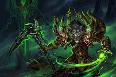 I'm so honored to be commissioned by DeviantArt for Blizzard in anticipation of the Legion launch. I'm a fan of WoW and of course I'm so excited to see the DHs and Illidan again! I always liked the...