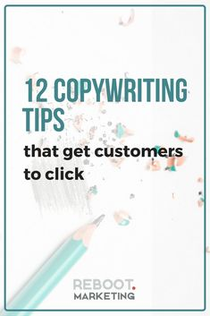 If your conversion rates could use a boost, your copywriting could be to blame! Here are 12 writing tips to get more people to make it through checkout on your business or retail website.