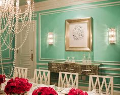 tiffany suite at the st. regis hotel in new york