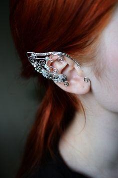 Elf ears Ear Cuffs by BeautyCreek on Etsy, $38.99