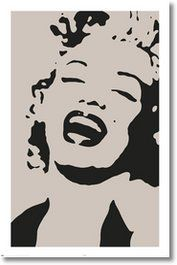 1000 images about marilyn monroe on pinterest celebrity for Black and white celebrity prints