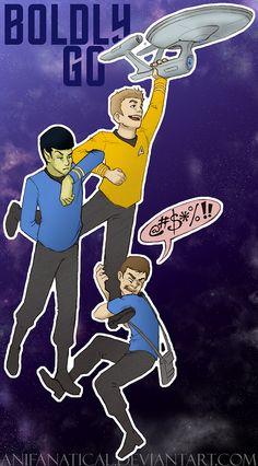 Damn it, Jim! by anifanatical.deviantart.com on @deviantART