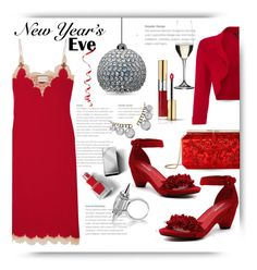 """""""Paint the town red..."""" by queenofsienna ❤ liked on Polyvore featuring Django & Juliette, Roxy, Yves Saint Laurent, Phase Eight, Gucci, Oscar de la Renta, Burberry, Jemma Wynne and Riedel"""
