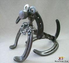 Crafts Made From Horseshoes http://xeontribe.com/amazing-horseshoes