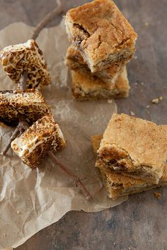 Toasted Marshmallow Cookie Bars | Annie's Eats by annieseats, via Flickr