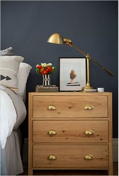 Little House of Four: {Color Combo} Navy, Gold and Gray