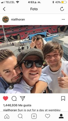 I love how Liam rests his face on Niall's shoulder