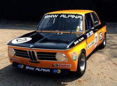 Newly restored, BMW's 1970 ALPINA 2002ti returns to the track in Monterey | Hemmings Daily