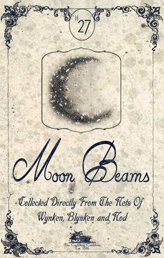 """Moon Beams"" #BottleLabel #Moon"