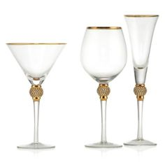Victoria Stemware - Sets of 4 from Z Gallerie