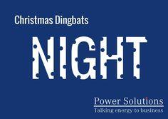 Power Solutions UK - Christmas Dingbat no 16