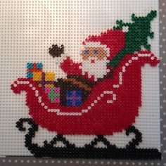 HAMA Beads - Santa Claus / Julemand #Hannemusen