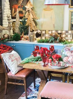 Mindy Weiss' Holiday Home Tour - Inspired by This