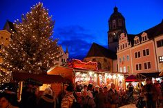 Christmas Market in Meissen, Germany
