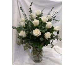 Elegant White Rose Bouquet in Princeton, Plainsboro, & Trenton NJ, Monday Morning Flower and Balloon Co. White Rose Bouquet, White Roses, Rose Flower Arrangements, Rose Delivery, Morning Flowers, Love Rose, Monday Morning, Floral Designs, All The Colors