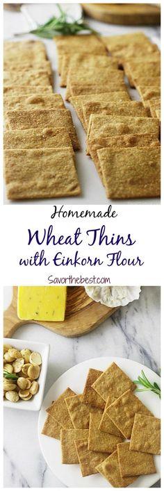 einkorn wheat thins