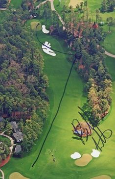 Bubba Watson's Master Winning Shots In the 2012 Playoff #ImportantThingsYouNeedToKnowInGolf