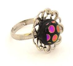 ring with glass stone