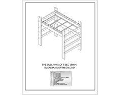 Twin - Loft Bed Plans