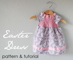 Easter Dress Tutorial: http://projectsbyjess.blogspot.com/2011/03/easter-dress-tutorial.html