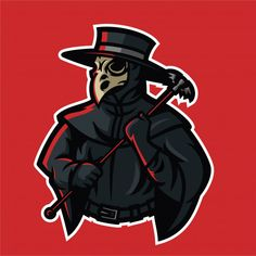 Find Doctor Plague Esport Gaming Mascot Logo stock images in HD and millions of other royalty-free stock photos, illustrations and vectors in the Shutterstock collection. Team Logo Design, Mascot Design, Sport Design, Doctor Vector, Medieval Plague Doctor, Fantasy Football Logos, Youtube Banner Template, Esports Logo, Game Logo
