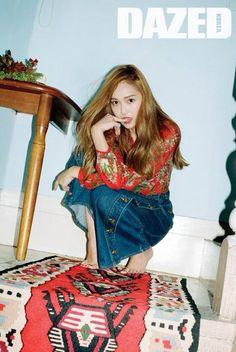 Jessica - DAZED Korea June 2015
