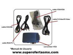 Convertidor VGA y accesorios