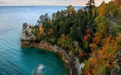 Camping at Pictured Rocks National Lakeshore on Lake Superior in the UP of Michigan