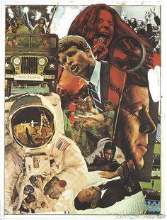 thefiftyeight: Robert Rauschenberg - Signs, 1970