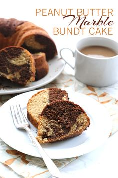 Low Carb Peanut Butter Chocolate Marble Cake Recipe