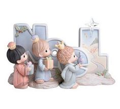 Precious Moments Nativity three wise men noel sculpture